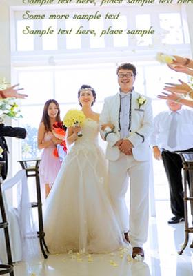 唯美海外婚礼