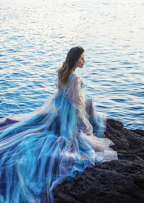 海的蓝精灵