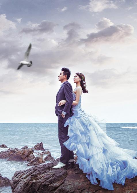 去远方看蓝色的海