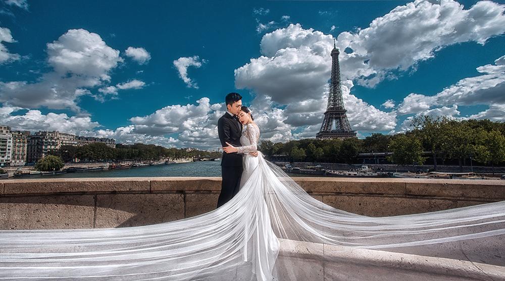 拒绝土味,2018拍巴黎婚纱照该如何穿才能显得洋气?