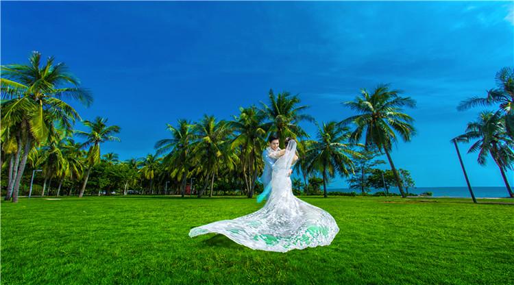 去三亚拍婚纱照多少钱?