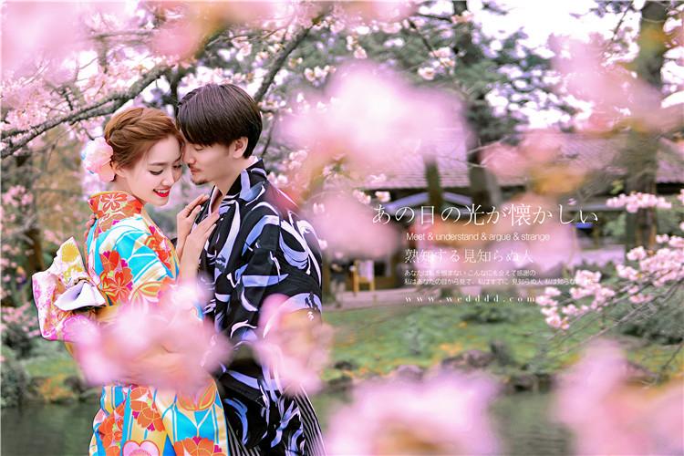 日本婚纱照拍摄价钱