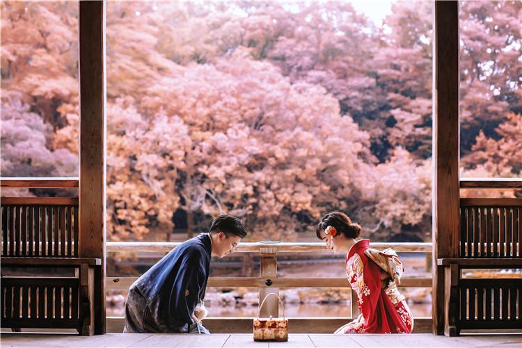 日本哪里婚纱照照的比较好?